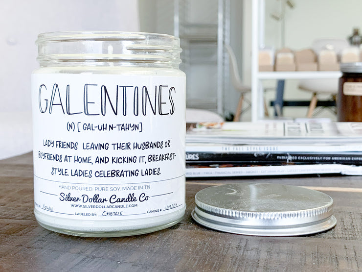 Galentines Day Definition - Silver Dollar Candle Co