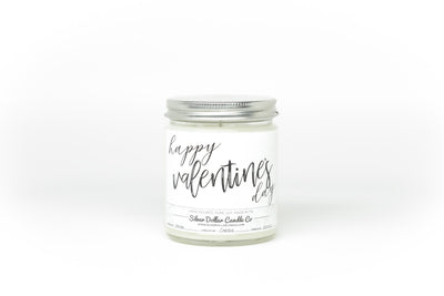 Happy Valentine's Day - (V2) - Silver Dollar Candle Co
