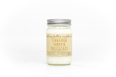 Cinnamon Pumpkin Cheesecake - 16oz - Silver Dollar Candle Co