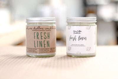 Fresh Linen Candle - 8oz