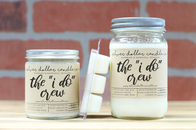 """The I Do Crew"" - Silver Dollar Candle Co"