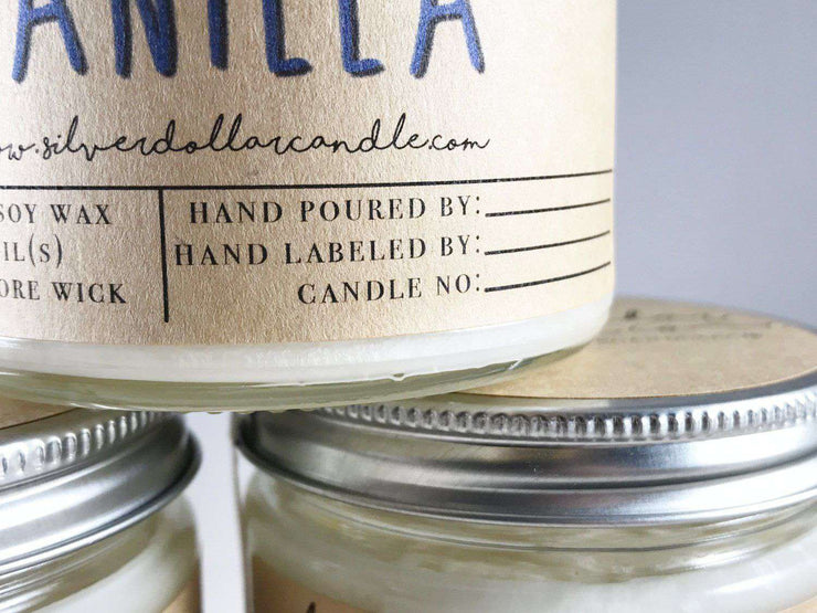 Virginia State Candle - 8oz - Silver Dollar Candle Co