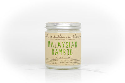 Malaysian Bamboo - 8oz - Silver Dollar Candle Co