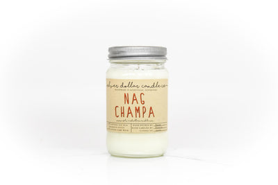 Nag Champa - 16oz - Silver Dollar Candle Co