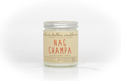 Nag Champa - 8oz - Silver Dollar Candle Co