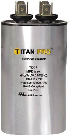 Titan TOCF25 Run Capacitor