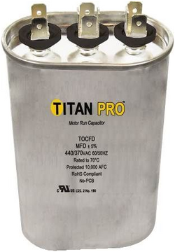 Titan TOCFD555 Run Capacitor