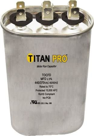 Titan TOCFD155 Run Capacitor