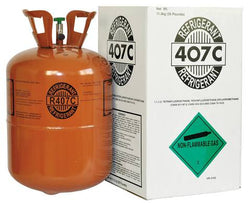 Refrigerant R-407C 25Lbs (Restrictions Applied)