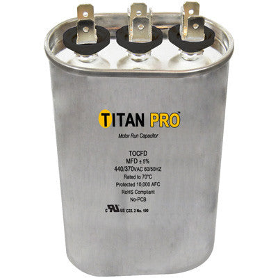 Titan TOCFD505 Run Capacitor