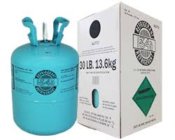 Refrigerant R-134A R134A 30 Lbs With HVAC and Automotive Connections