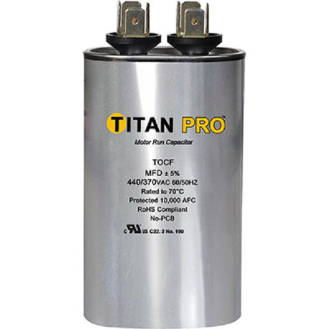 Titan TOCF3 3 MFD 440/370V Oval Run Capacitor