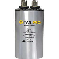 Titan TOCF60 60 MFD 440/370V Oval Run Capacitor