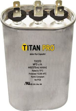 Titan TOCFD255 RUn Capacitor