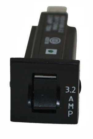 York 024-34532-000 250V 3.2A 1 Pole Circuit Breaker