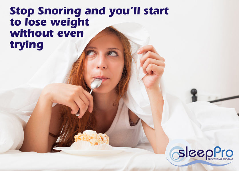 It's easy – stop snoring and start to lose weight