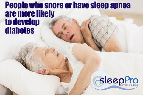 Health effects on snoring