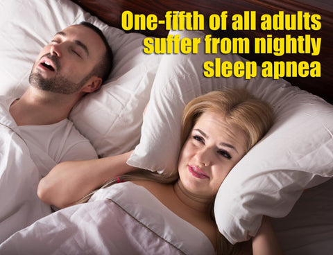 How to manage snoring and sleep apnea without CPAP, drugs or surgery