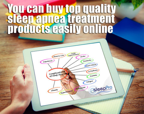 Medically approved products to treat sleep apnea are easy to buy online