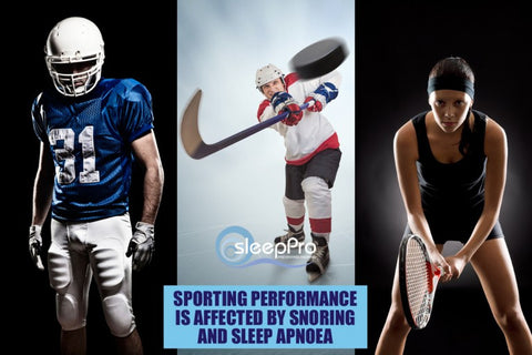 The fittest amongst us suffer from a variety of sleep disorders and leading sports professionals are not excluded
