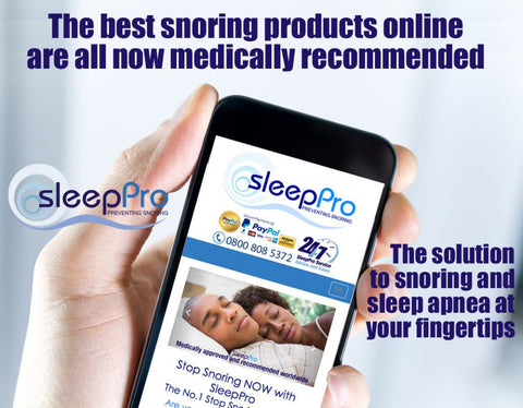 buy sleeppro stop snoring products online