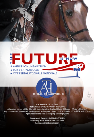 AHT Online Auction Horse Entry