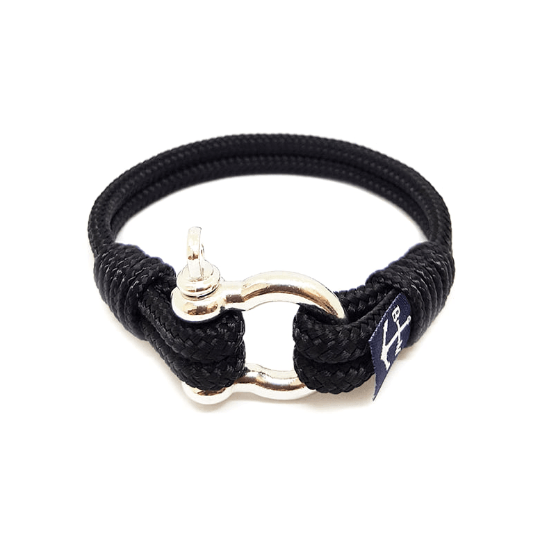 Black Yachting Nautical Bracelet
