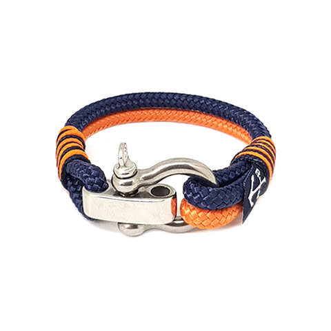 Adjustable Shackle Dawn Nautical Bracelet