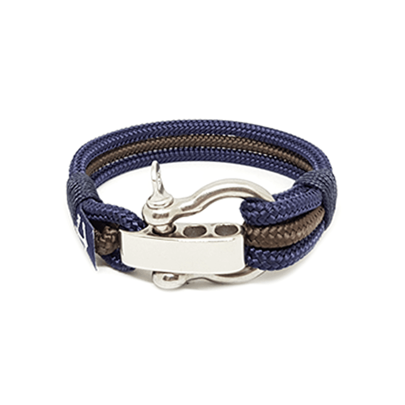 Adjustable Shackle Derry Nautical Bracelet by Bran Marion