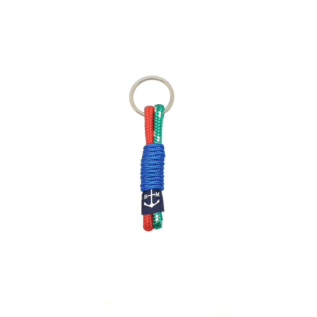 Blue Wrap Handmade Keychain by Bran Marion