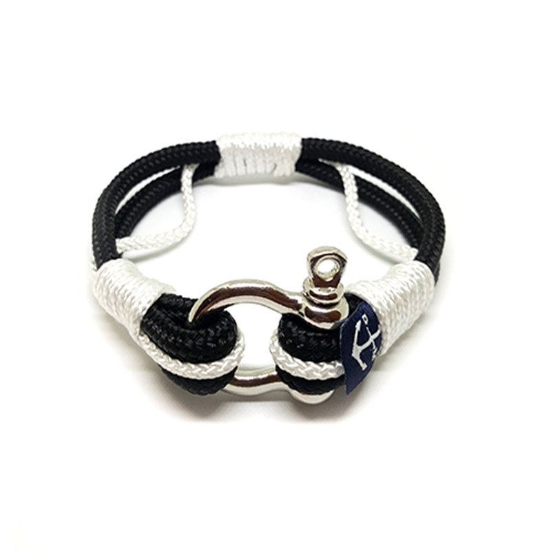 Black & White Nautical Bracelet by Bran Marion