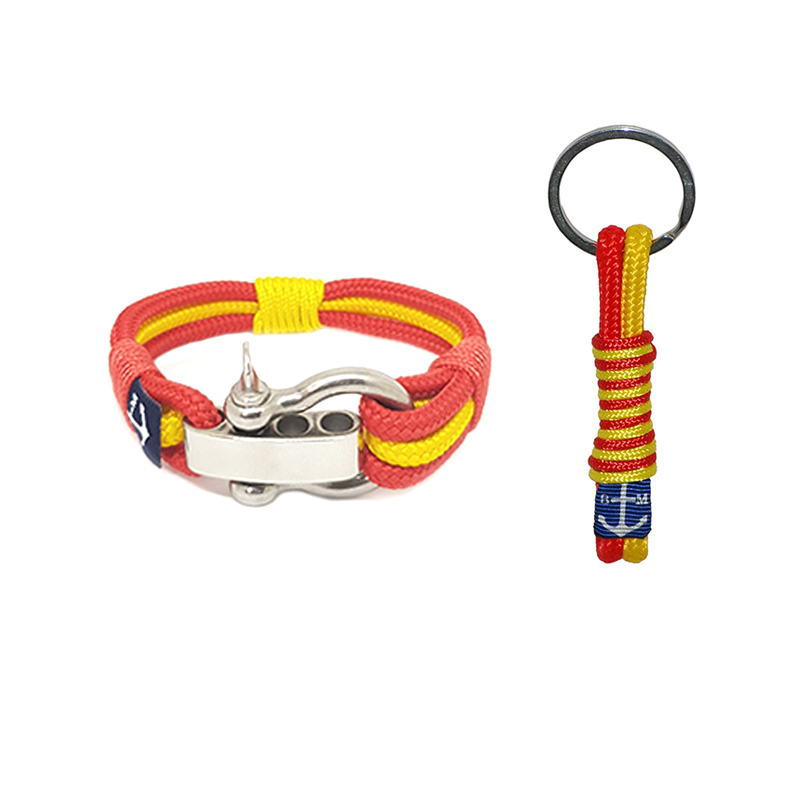 Spain Nautical Bracelet & Keychain