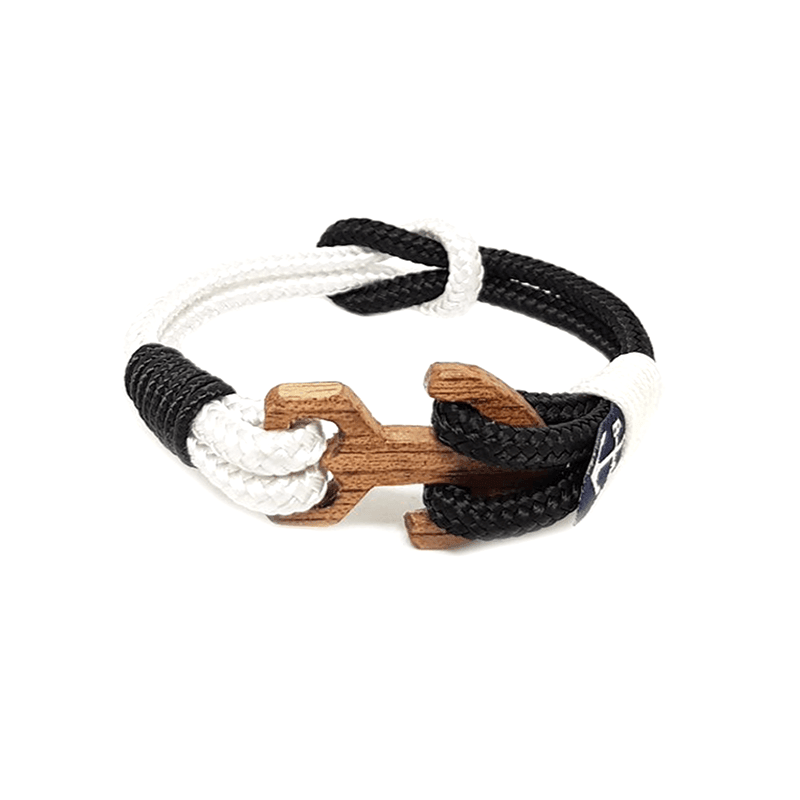 Black & White Rope Nautical Bracelet