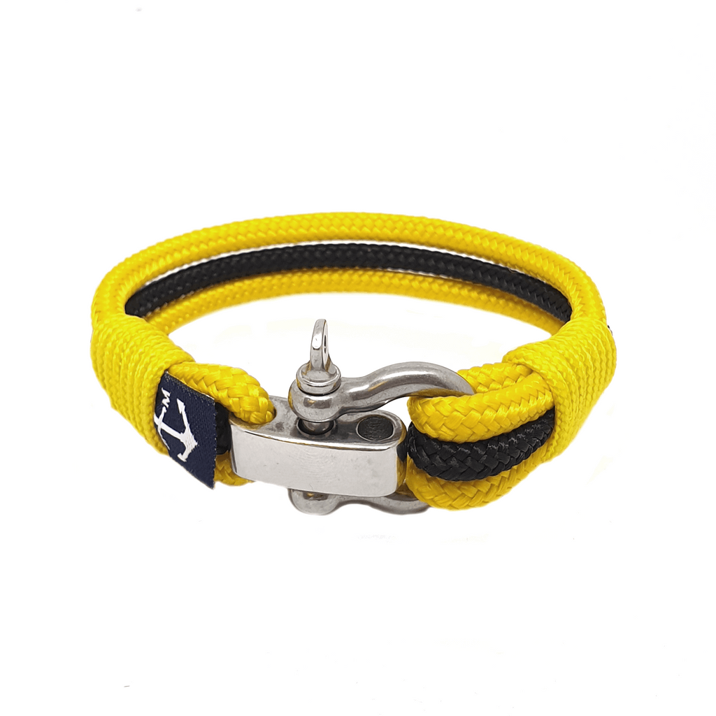 Adjustable Shackle Parnell Nautical Bracelet by Bran Marion