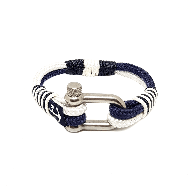 Blue & White Nautical Bracelet
