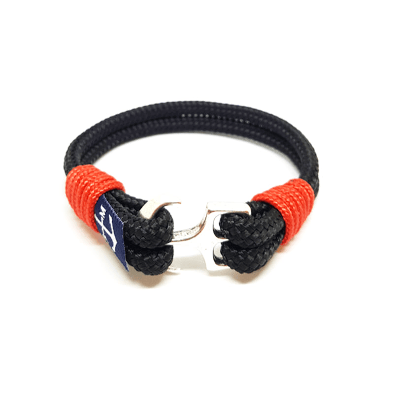 Bran Marion Black Nautical Bracelet