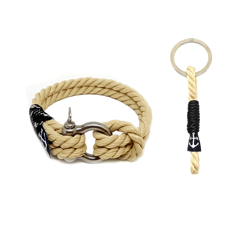Marine Nautical Bracelet and Keychain