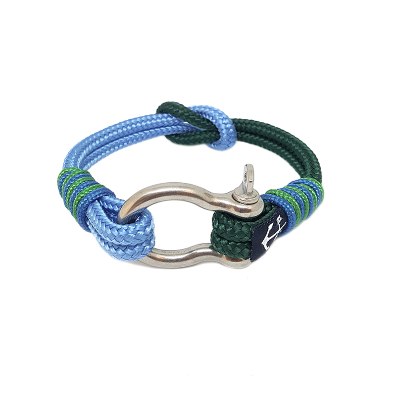 Green And Blue Nautical Anklet