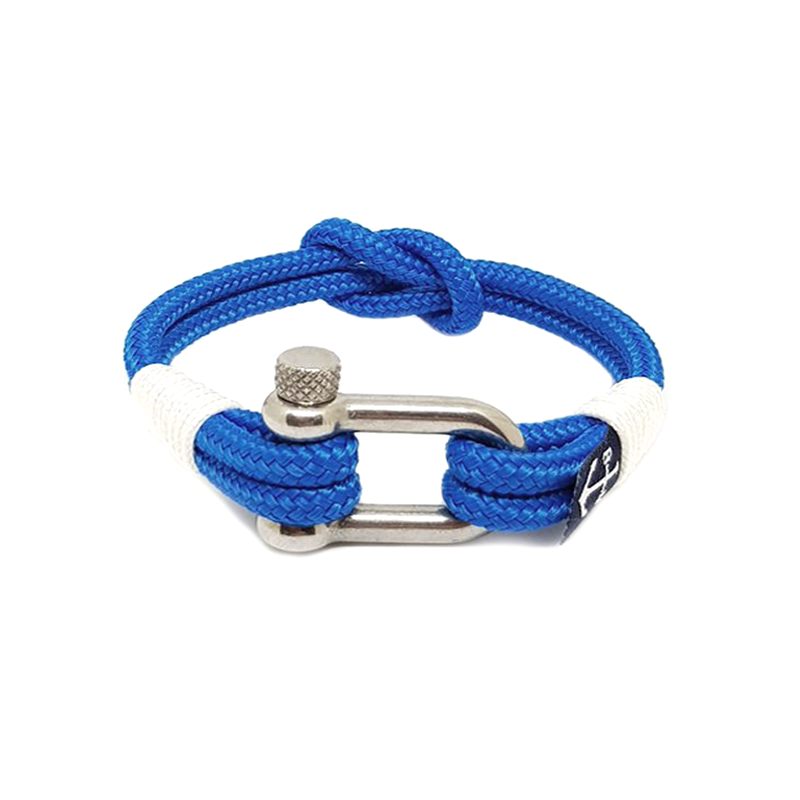 Blue and White Nautical Bracelet by Bran Marion