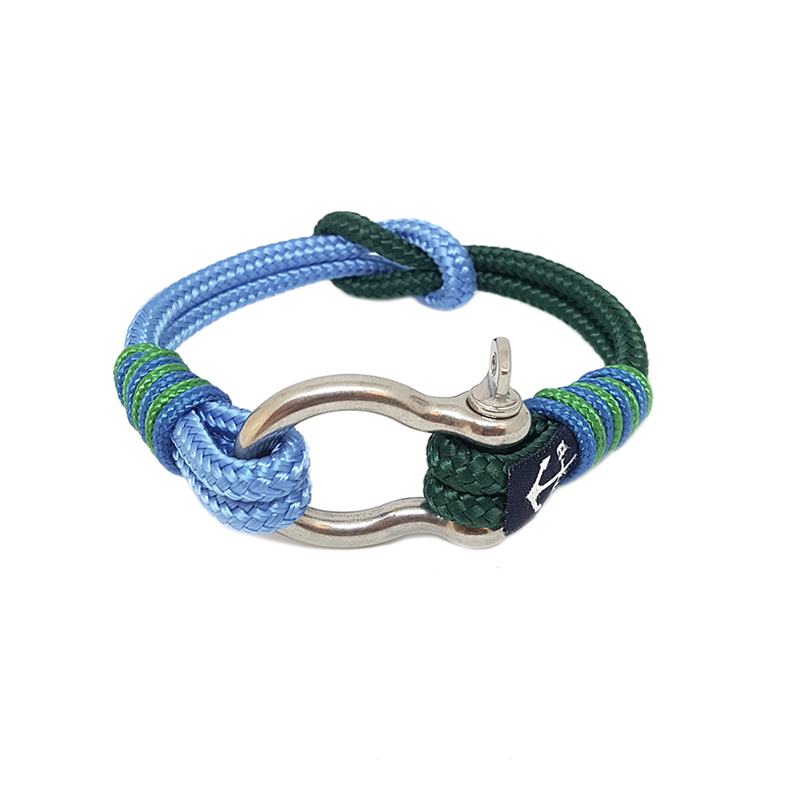 Green And Blue Nautical Bracelet