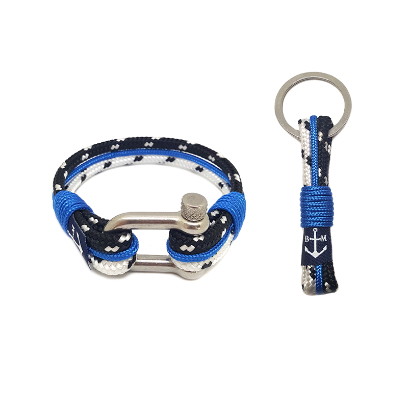 Sailor's Hook Nautical Bracelet & Keychain