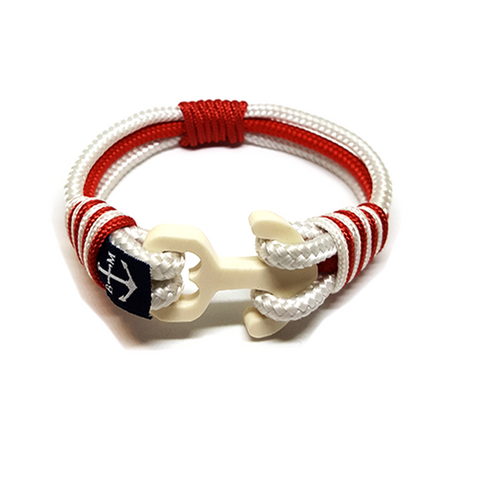 London Wood Anchor Nautical Bracelet by Bran Marion