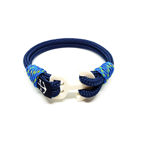 Blue Nautical Anklet