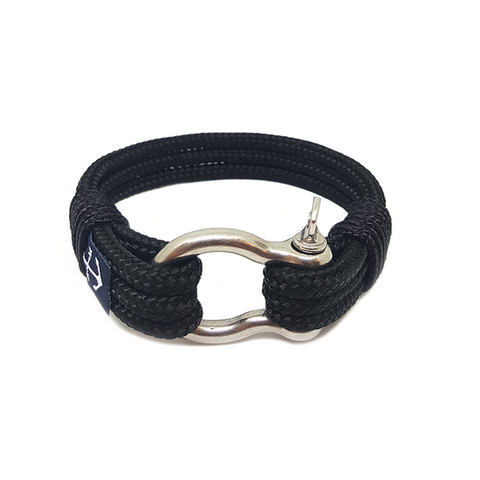 Black Pearl Nautical Bracelet by Bran Marion