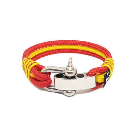 Manchester United Nautical Bracelet by Bran Marion