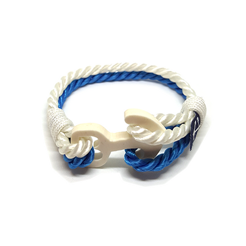 Aqua Nautical Bracelet by Bran Marion