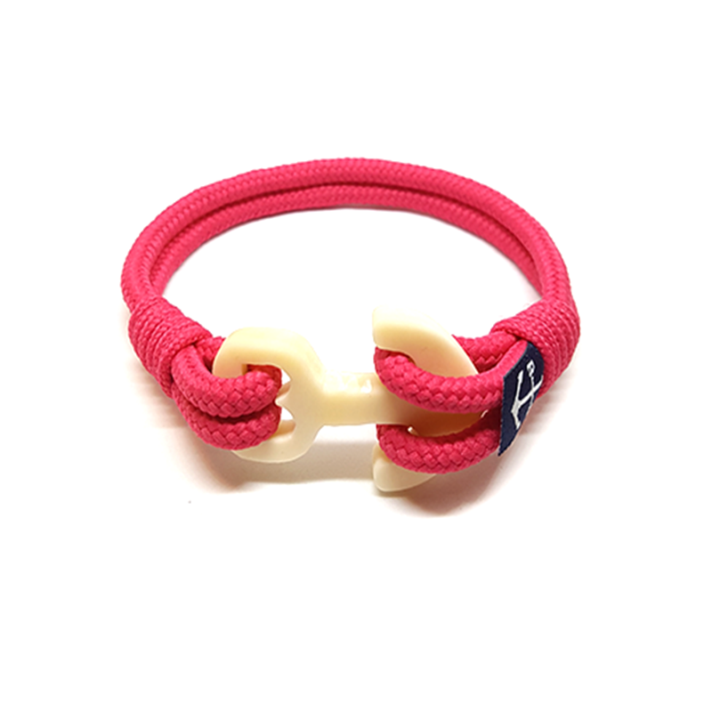 Pink Nautical Anklet