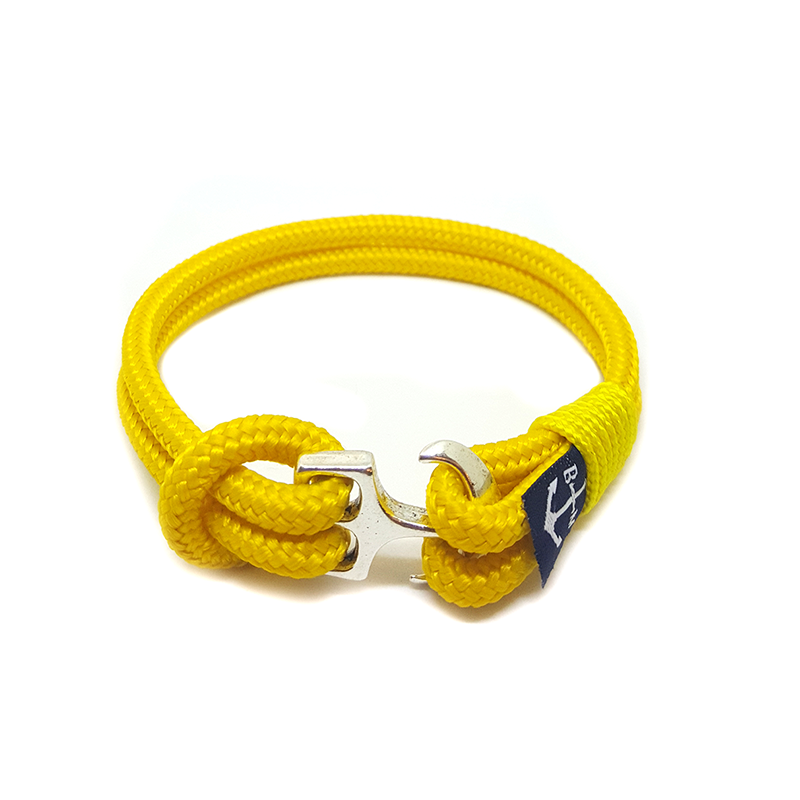 Bran Marion Sailors Yellow Nautical Anklet
