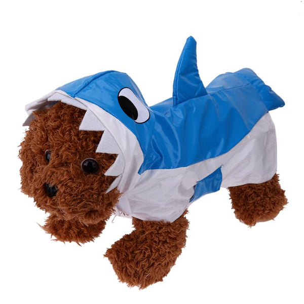 Cute Dog Clothes Coats Jackets Cartoon Shark Shapes Winter Warm Dog Clothes for Small Dog Pet Costume Apparel