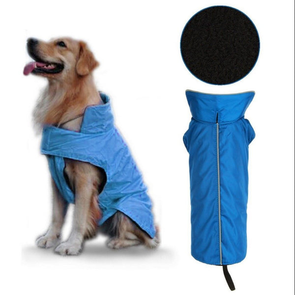 2 Colors Waterproof Pet Apparel Warm Dog Jacket Autumn Winter Coat Outdoor Vest Dog Clothing Drop Shipping